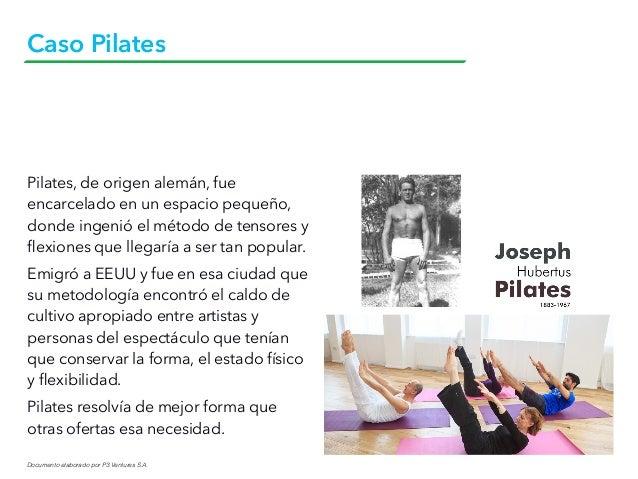 Documento elaborado por P3 Ventures S.A. Caso Pilates Pilates, de origen alemán, fue encarcelado en un espacio pequeño, do...