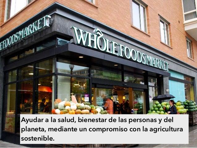 Ayudar a la salud, bienestar de las personas y del planeta, mediante un compromiso con la agricultura sostenible.