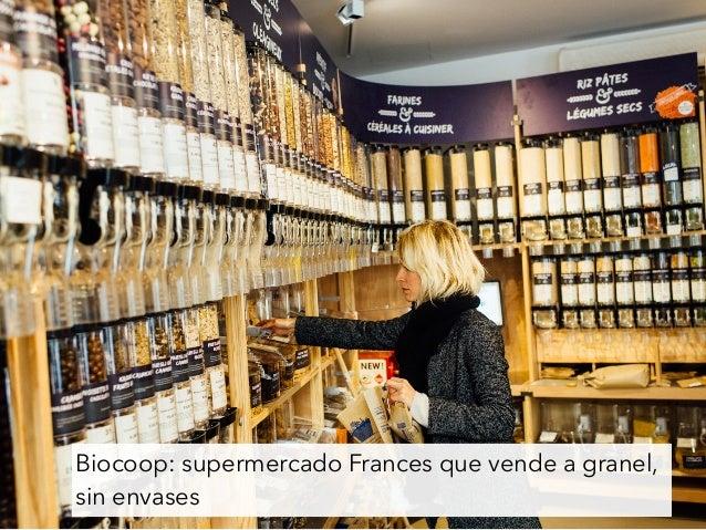 Biocoop: supermercado Frances que vende a granel, sin envases