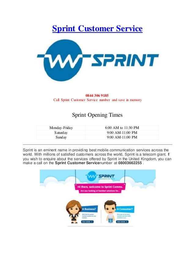 Sprint Customer Service 0844 306 9185 Call Sprint Customer Service Number  And Save In Memory Sprint ...  Sprint Customer Care