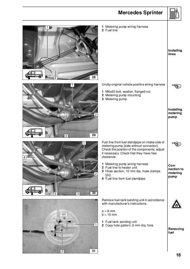 sprinter 2006 2 2 3 0 d e 16 16 mercedes sprinter 1 metering pump wiring harness