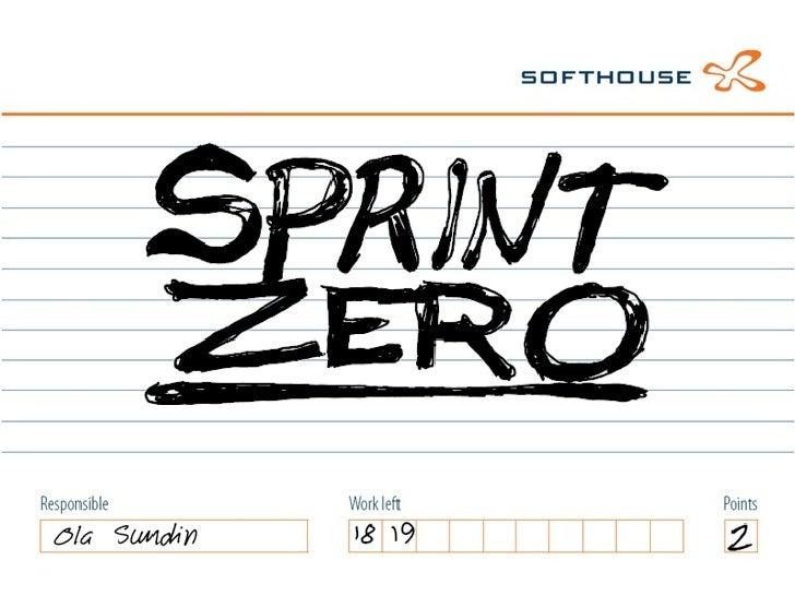 Sprint Zero