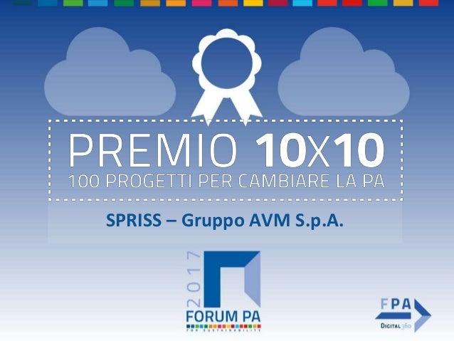 SPRISS – Gruppo AVM S.p.A.