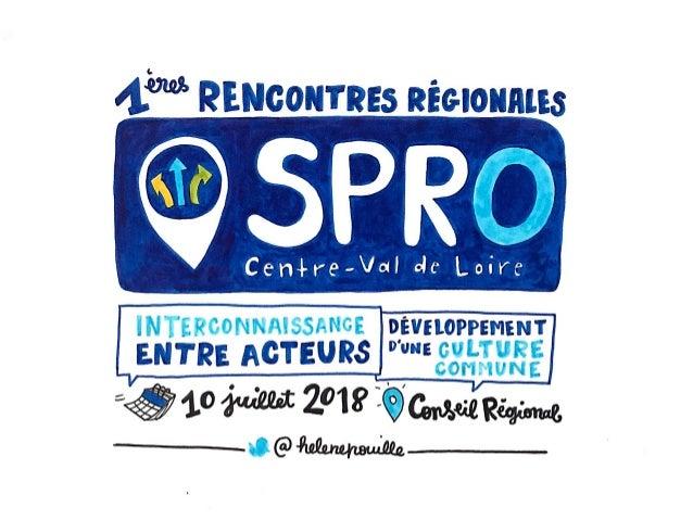1ères rencontres régionales du SPRO