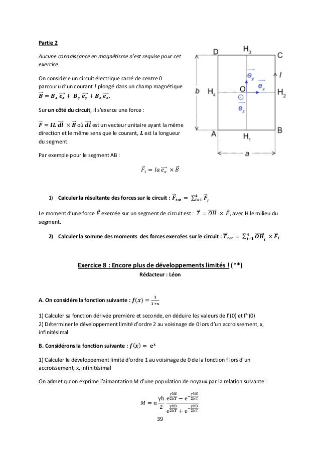 Spr Ue3 1 Poly Cours Et Exercices