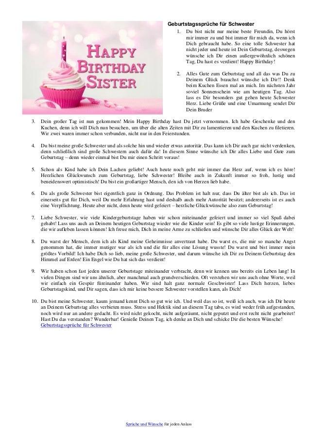 Spruch zum 25 geburtstag schwester