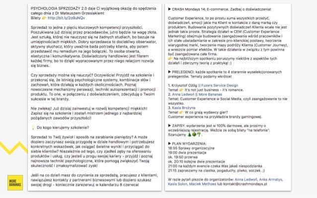 Sprzedaż B2c I B2b Na Facebooku Anna Ledwoń Blacha