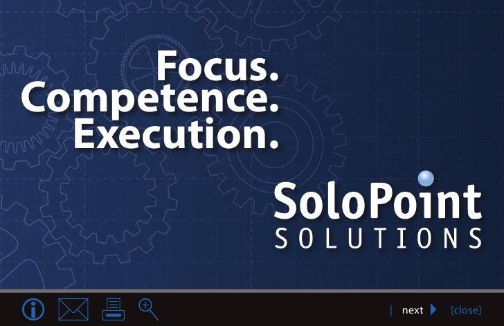 Heading      Focus.Competence.  Execution.                  | next   [close]