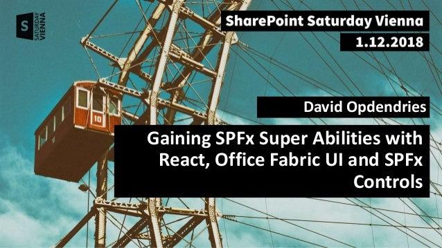 SharePoint Saturday Vienna Slides