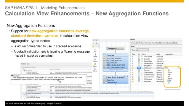 What's New in SAP HANA View Modeling