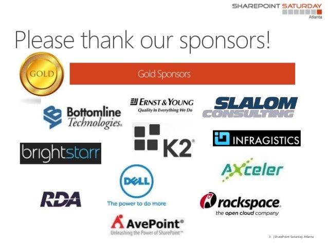 SPSATL2013 Understanding Task Aggregation in SharePoint 2013 Slide 3