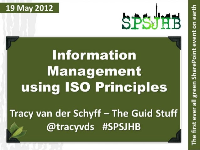 Index:   Fear Busters   Integrated Management Systems   Compliance Matrix   ISO 9001 as Foundation   Planning & Deliv...