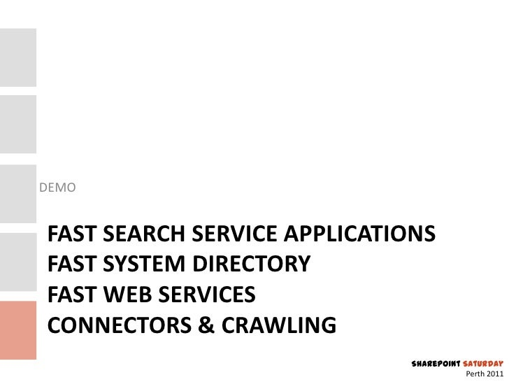 Technical Overview of FAST Search Server 2010 for