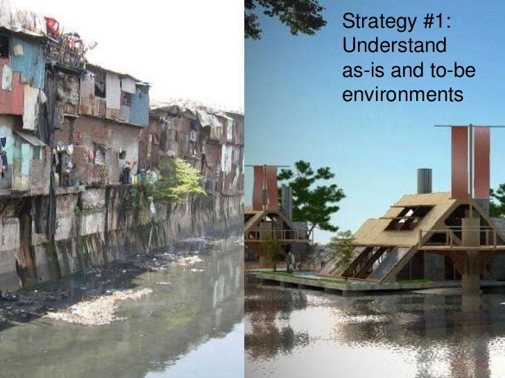 Strategy #1:Understand as-is and to-be environments<br />