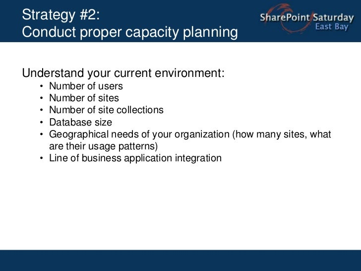 Strategy #1: Understand as-is and to-be environments<br />Anders Rask, Upgrading SharePoint 2007 to SharePoint 2010<br />