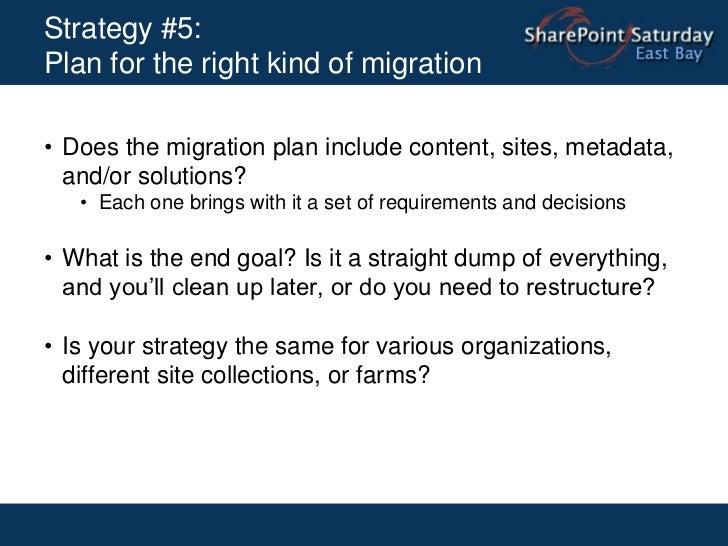 Line of business application integration</li></li></ul><li>Strategy #2: Conduct proper capacity planning <br />Map out you...
