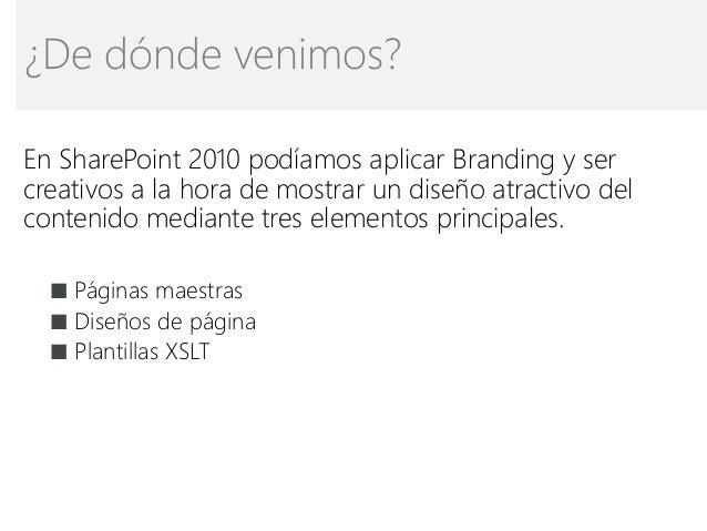 sharepoint 2010 branding templates - creatividad en la visualizaci n de contenidos en