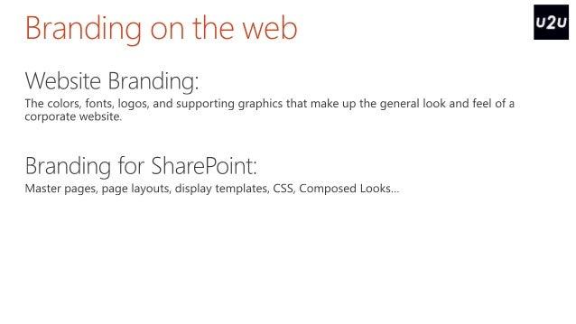 SharePoint Saturday Belgium The SharePoint Design Manager - Sharepoint design manager