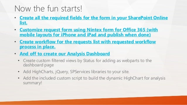 Dashboard with highcharts in office 365 sharepoint online - Is sharepoint included in office 365 ...