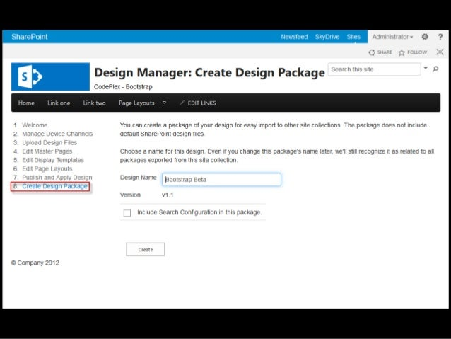 Intro to Design Manager