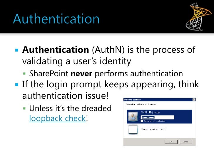active directory sharepoint user validating