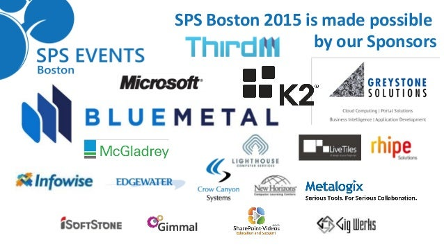 #SPSBoston Shifting the Paradigm of Requirements Gathering Slide 3