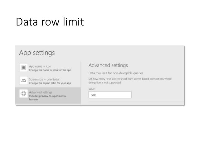 Conditional Formatting and Data Filtering in PowerApps