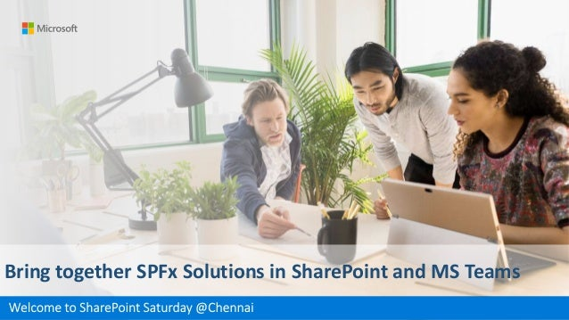 Bring together SPFx Solutions in SharePoint and MS Teams