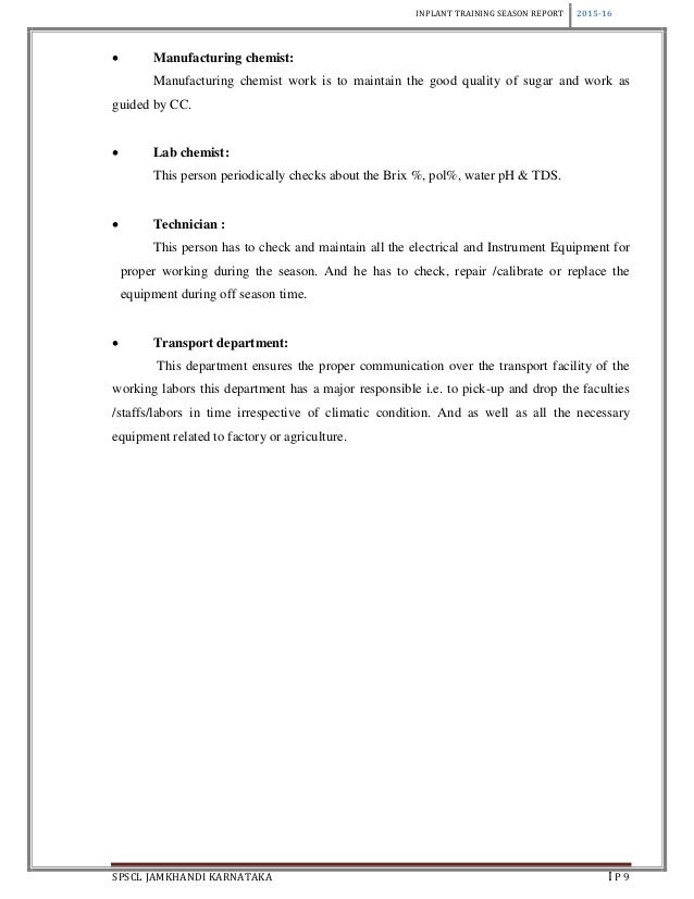 inplant training report essay Inplant training report ashok leyland, ennore training period 4th june to 8th june submitted by and of introduction ashok leyland is a leading national and.
