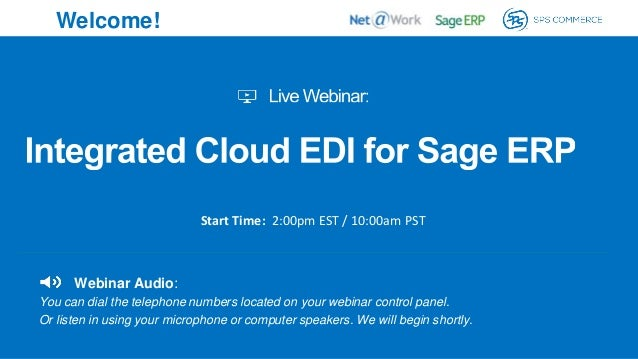 Integrated Cloud EDI for Sage ERP