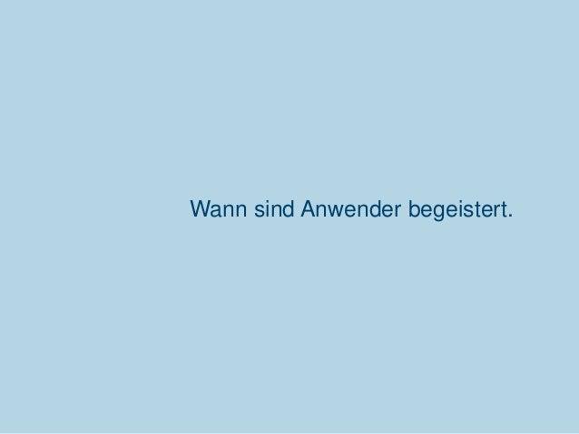 Wann sind Anwender begeistert.  Communardo Software GmbH · Kleiststraße 10 a · D-01129 Dresden/Germany · Fon +49 (351) 833...