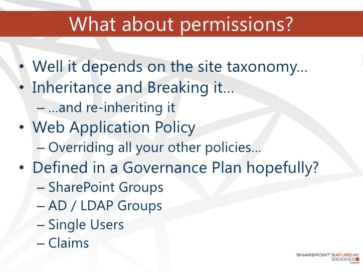 what are platform scopes permissions defined by the applications sap