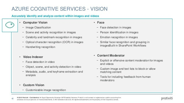 © 2018 Protiviti – Confidential. An Equal Opportunity Employer M/F/Disability/Veterans. Protiviti is not licensed or regis...