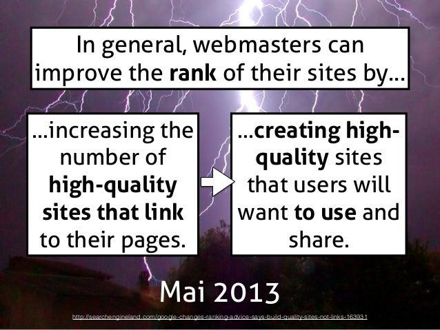 Des règles utiles,  vérifiables en  ligne, universelles  et qui font  consensus  ?