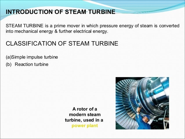 Ppt of turbine.