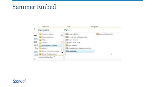 Yammer Yammer brings conversations to your OneDrive and SharePoint Online files Yammer Share button Automatic replacement ...