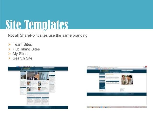 Branding 101 extended for Sharepoint 2010 branding templates