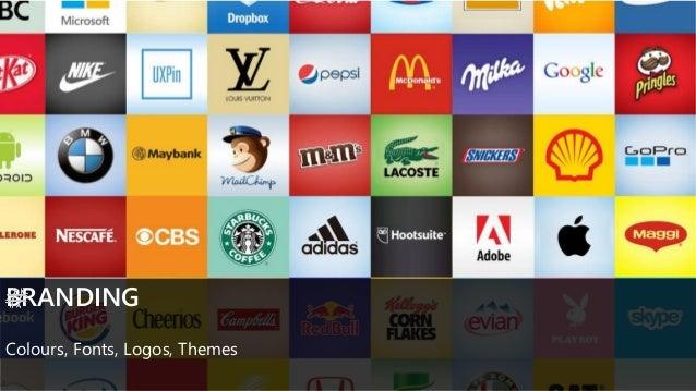 BRANDING Colours, Fonts, Logos, Themes