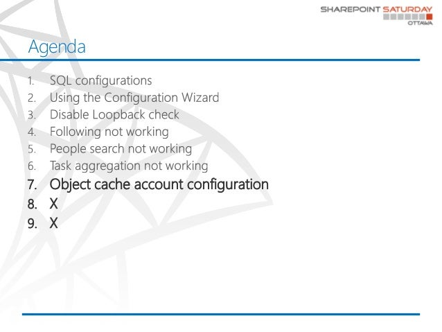 Top SharePoint misconfiguration