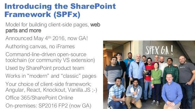 Sps paris building great client-side web parts with spfx