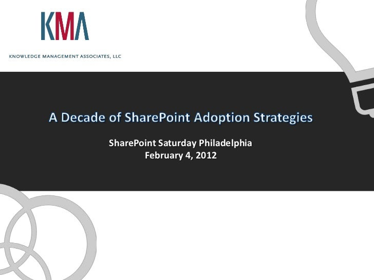 SharePoint Saturday Philadelphia       February 4, 2012