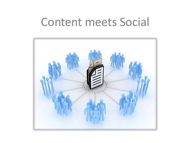 Content meets Social