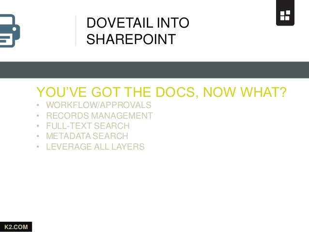 SharePoint: The Catalyst for the Paperless Office