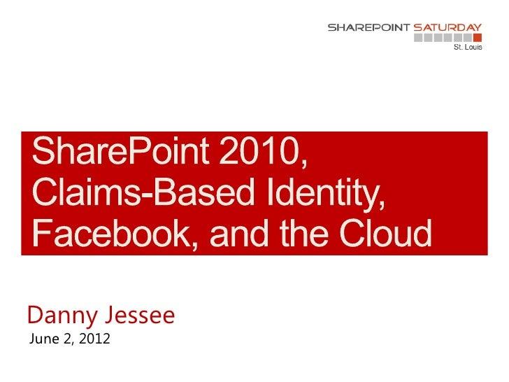 Danny JesseeJune 2, 2012