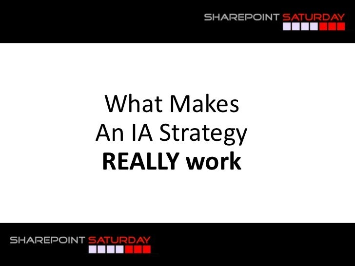SharePoint Information Architecture & Usability