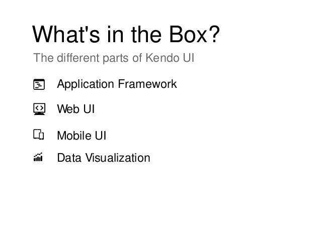 Telerik Kendo UI Overview