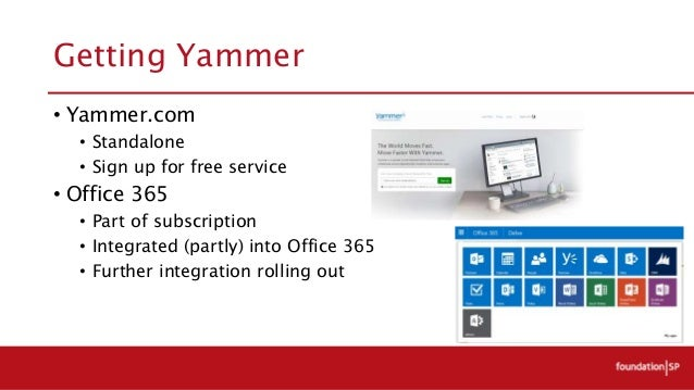 Yammer what is all the fuss about - Yammer office 365 integration ...