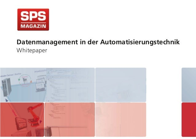 Datenmanagement in der Automatisierungstechnik Whitepaper
