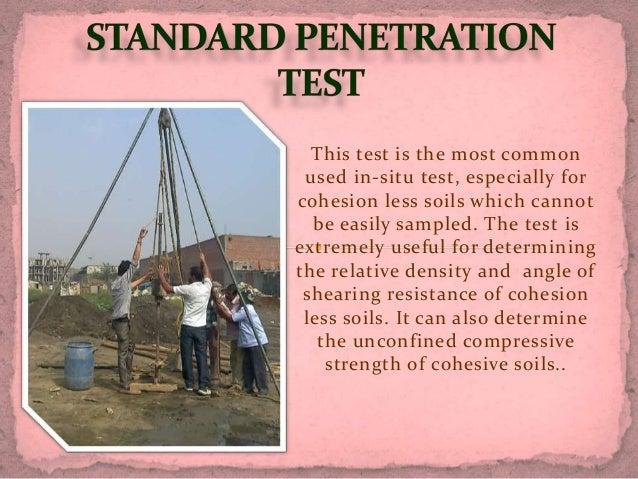 Standard Penetration Test & Liquid Limit,Plasticity Limit