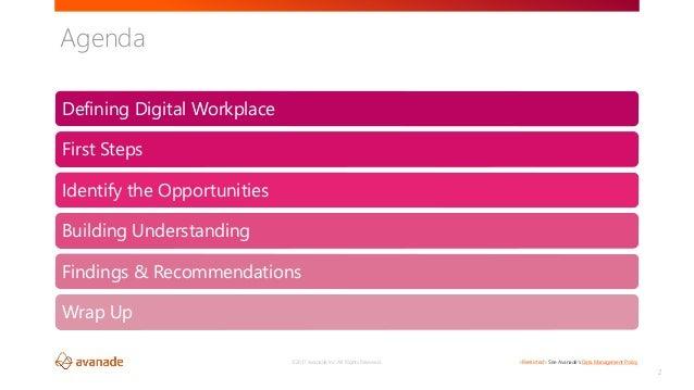 Planning Your Digital Workplace Transformation SharePoint Fest Denver 2017 Slide 2